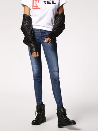 SKINZEE-LOW 0848L, Blue jeans