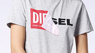 Diesel Logo Mujer