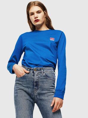 T-DIEGO-DIV-LS, Azul Brillante - Camisetas