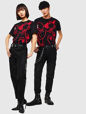 CL-T-DIEGO-2, Negro - Camisetas