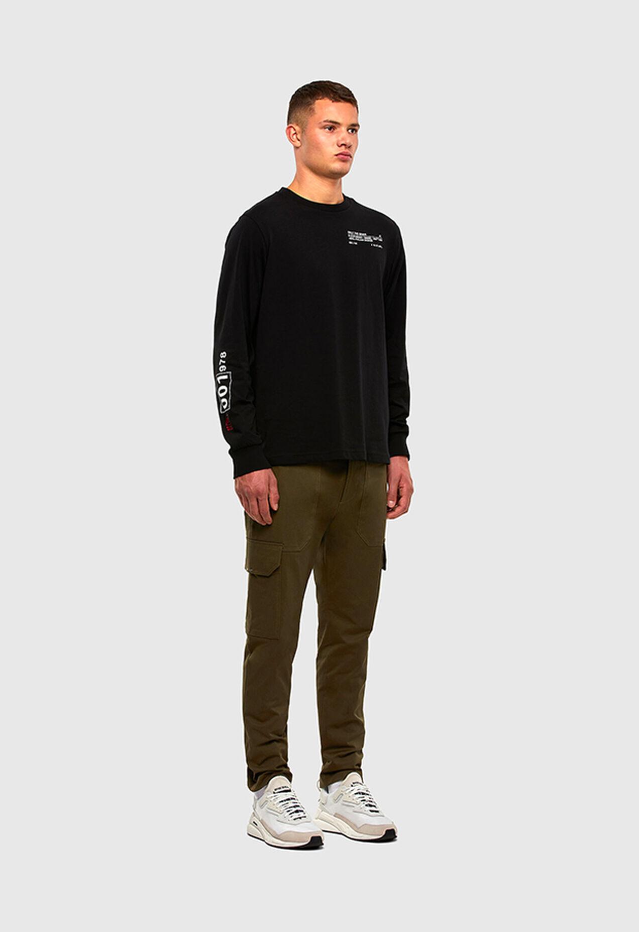 P-BAKER-SLIM, Verde Militar - Pantalones