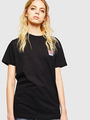 T-DIEGO-DIV, Negro - Camisetas