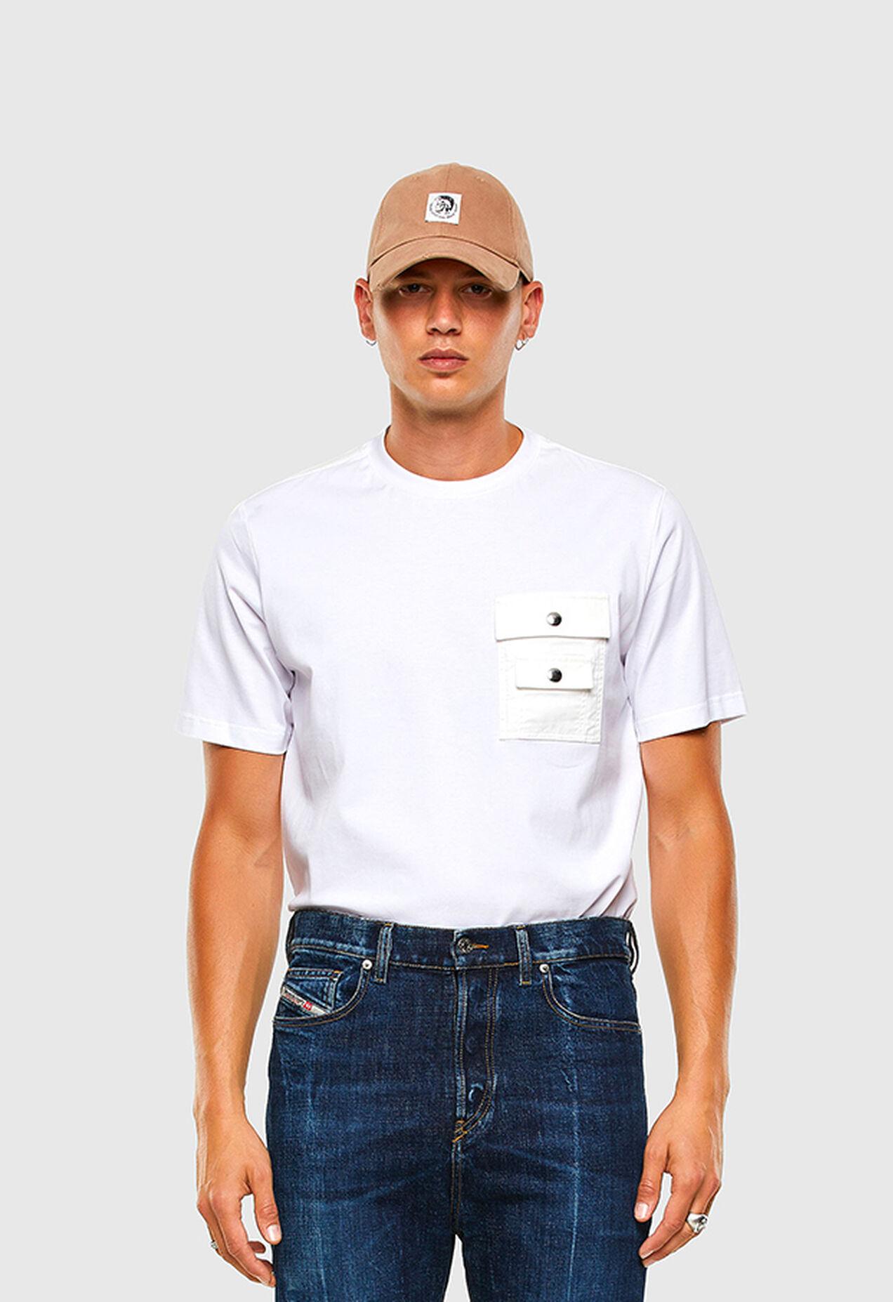 T-TASK-SLITS, Blanco - Camisetas
