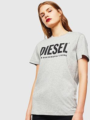 T-DIEGO-LOGO, Gris - Camisetas