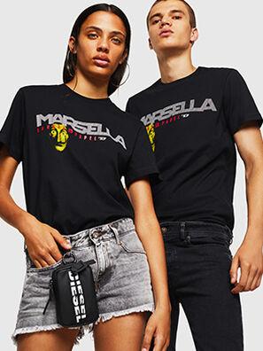 LCP-T-DIEGO-MARSELLA, Negro - Camisetas
