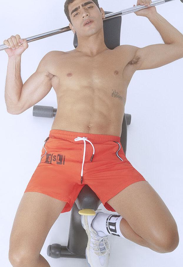 BMBX-WAVE-E42, Naranja - Bañadores boxers