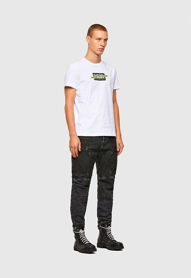T-DIEGOS-A3, Blanco - Camisetas