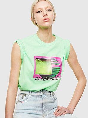 T-JUST-NEON-S1, Verde Fluo - Camisetas