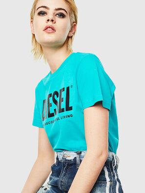 T-DIEGO-LOGO, Celeste - Camisetas