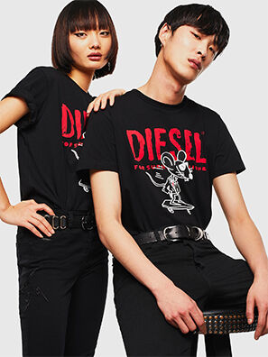 CL-T-DIEGO-1, Negro - Camisetas
