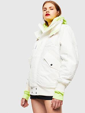 W-OKSO, Blanco - Chaquetones de invierno