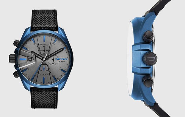 DZ4506, Negro/Azul - Relojes