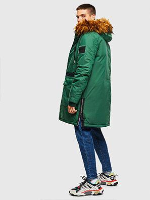 W-BULLISK, Verde Oscuro - Chaquetones de invierno