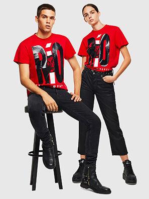 LCP-T-DIEGO-RIO, Rojo - Camisetas