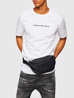 D-SUBTORYAL DENIM BE, Blue Jeans - Bolsas con cinturón