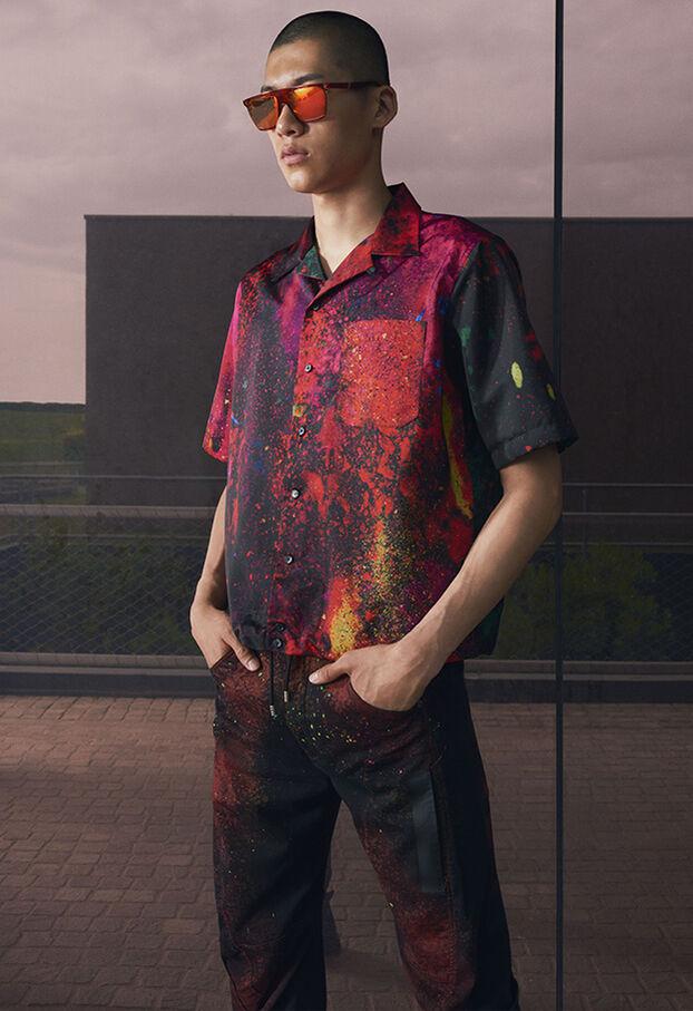 S-MOOL, Rojo/Negro - Camisas