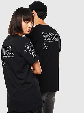 CL-T-DIEGO-3, Negro - Camisetas