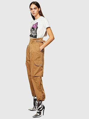P-CHIKU, Marrón Claro - Pantalones