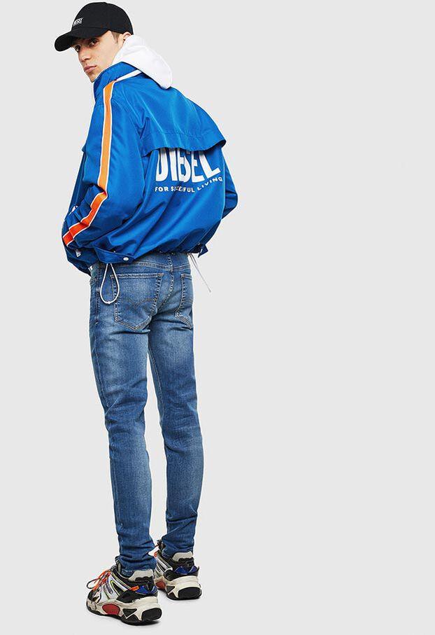 J-BROCK, Azul - Chaquetas
