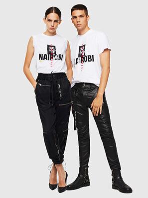 LCP-T-DIEGO-NAIROBI, Blanco - Camisetas