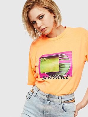 T-JUST-NEON-S1, Naranja - Camisetas
