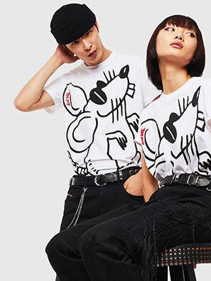 CL-T-DIEGO-2, Blanco - Camisetas