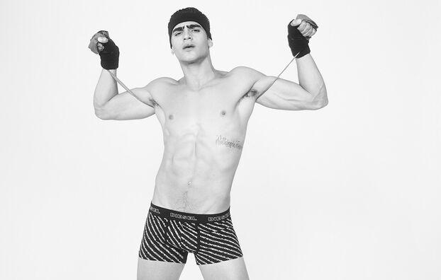 UMBX-DAMIEN, Negro/Blanco - Boxers