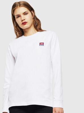 T-DIEGO-DIV-LS, Blanco - Camisetas