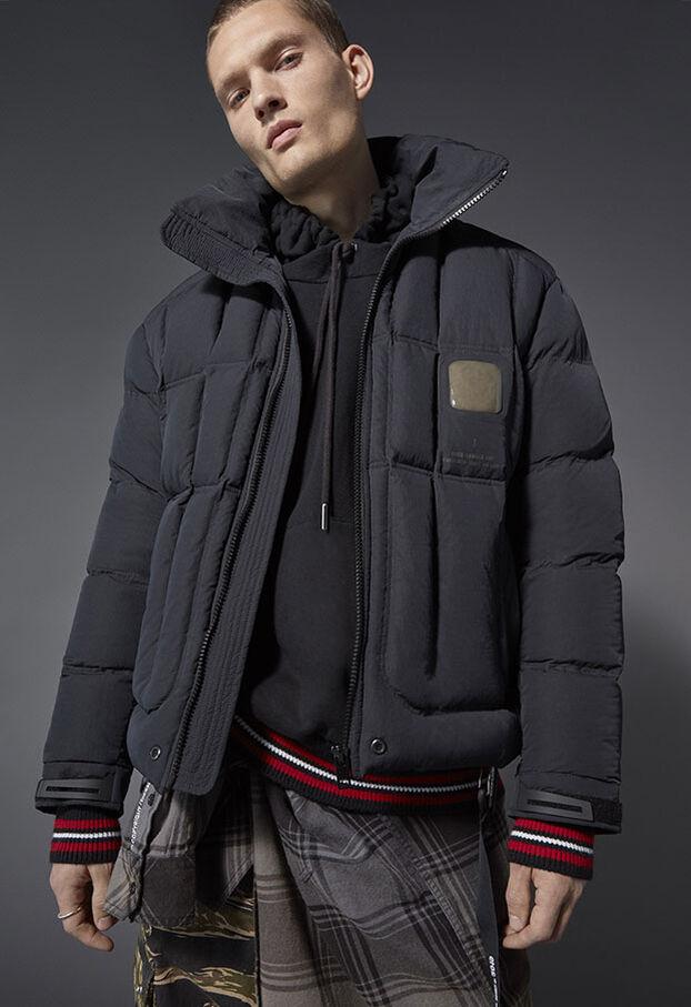W-PETR, Negro - Chaquetones de invierno