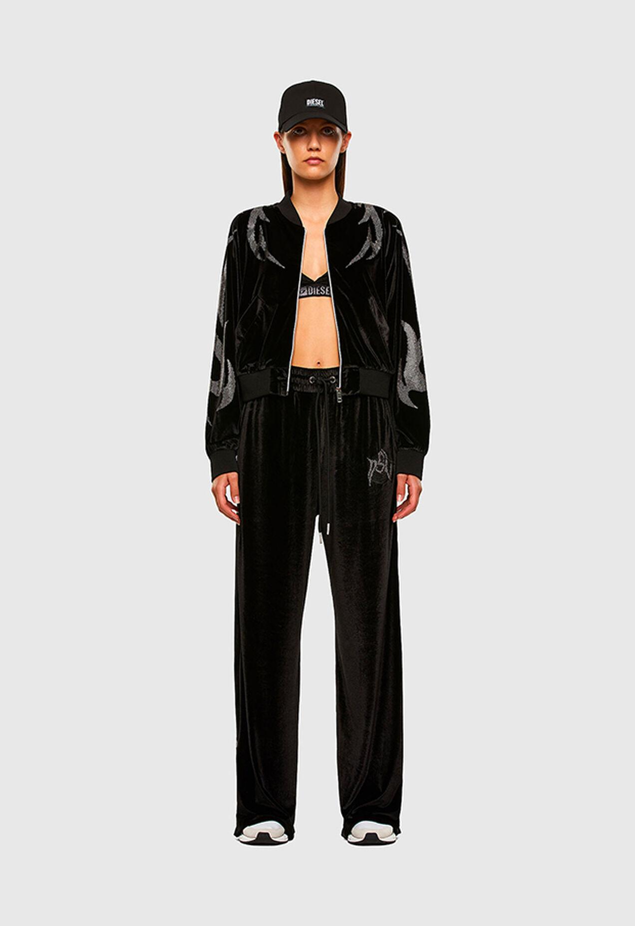 P-CHINILLE, Negro - Pantalones