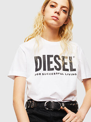 T-DIEGO-LOGO, Blanco - Camisetas