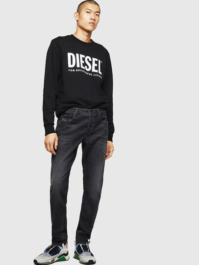 Diesel - Larkee-Beex 082AS, Negro/Gris oscuro - Vaqueros - Image 5