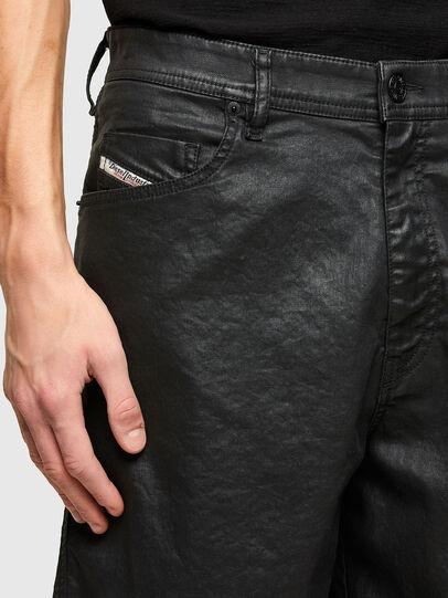 Diesel - D-WILLOH-X-SP JOGGJEANS, Negro - Shorts - Image 3