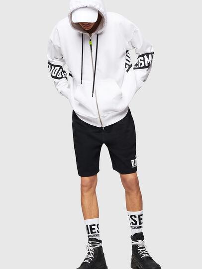 Diesel - P-ALF-SHORT, Negro - Shorts - Image 4