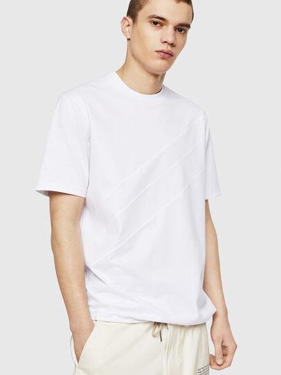 Diesel - T-ALEKSEY, Blanco - Camisetas - Image 1