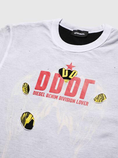 Diesel - TJUSTLAY, Blanco/Negro - Camisetas y Tops - Image 3