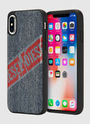 VINTAGE DENIM IPHONE X CASE, Blue Jeans - Fundas