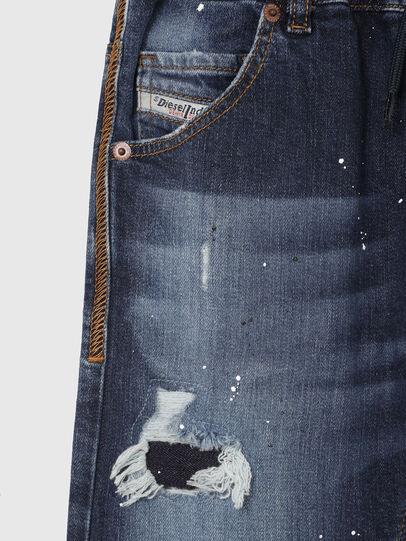 Diesel - KROOLEY-NE-J SH, Azul Oscuro - Shorts - Image 3