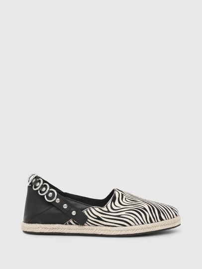 Diesel - S-LIMA W, Negro/Blanco - Zapatos bajos - Image 1