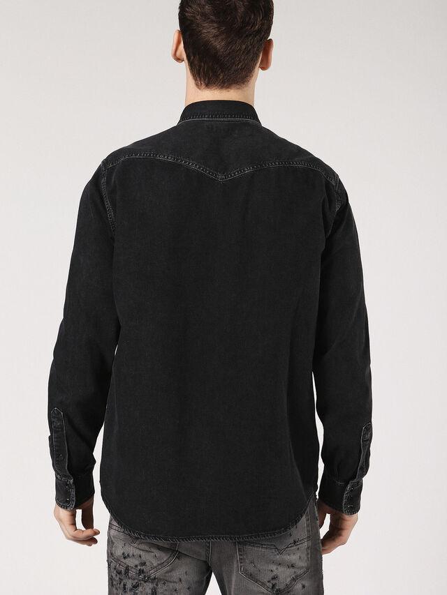 Diesel - D-ROOKE, Black Jeans - Camisas de Denim - Image 2