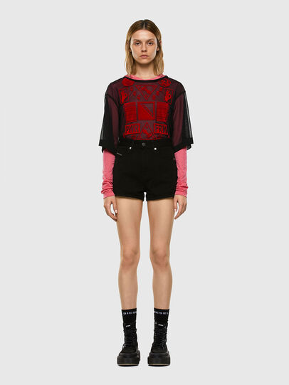 Diesel - T-LAYER, Rosa - Tops - Image 5