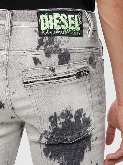 Diesel - D-Amny 009GM, Gris Claro - Vaqueros - Image 4