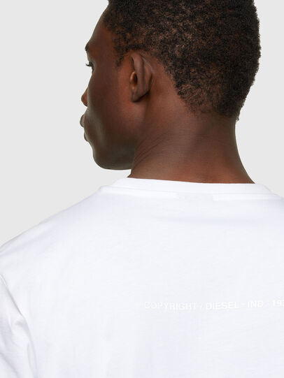 Diesel - T-JUST-A34, Blanco - Camisetas - Image 4