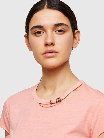 Diesel - T-BULLOCK-A1, Rosa - Camisetas - Image 3
