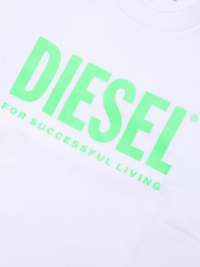 Diesel - SCREWDIVISION-LOGOX, Blanco - Sudaderas - Image 3