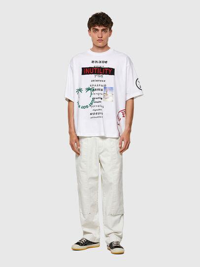 Diesel - T-BALM-B2, Blanco - Camisetas - Image 4