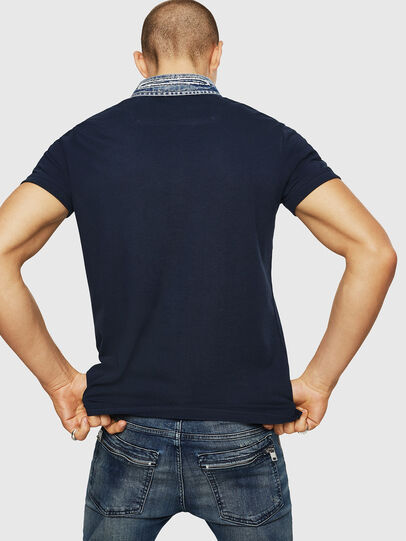 Diesel - T-MILES-NEW, Azul Oscuro - Polos - Image 2