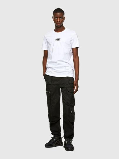 Diesel - T-DIEGOS-SMALLOGO, Blanco - Camisetas - Image 4