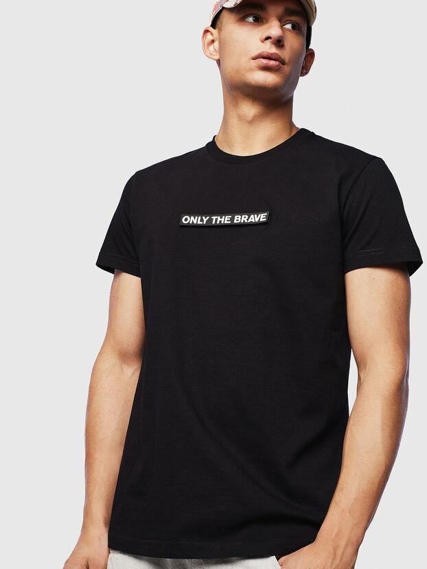 T-DIEGO-T16, Negro - Camisetas