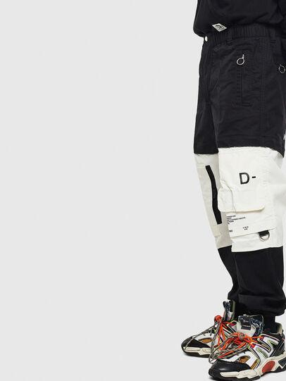 Diesel - P-MELTY, Negro/Blanco - Pantalones - Image 3